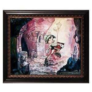 Pinocchio Im a Boy! Disney Fine Art Giclee by Jim Salvati