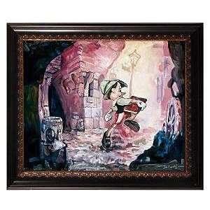 Pinocchio Im a Boy! Disney Fine Art Giclee by Jim Salvati