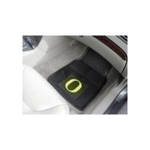 Oregon Ducks Car Floor Mats 18 x 27 Heavy Duty Vinyl Pair