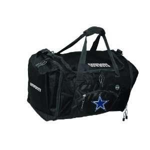 NFL Dallas Cowboys Black Roadblock Duffel