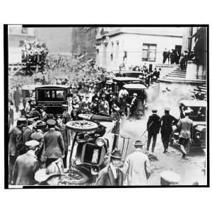 Explosion,Broad St and Wall St,New York City,NY,1920 Home
