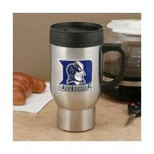 Duke Blue Devils NCAA Stainless Steel Travel Mug  Sports