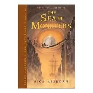 The Sea of Monsters (Percy Jackson and the Olympians
