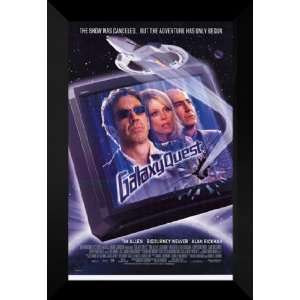 Galaxy Quest 27x40 FRAMED Movie Poster   Style A   1999