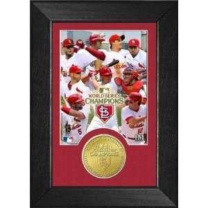 St. Louis Cardinals 2011 World Series Champions Mini Mint