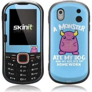 Skinit A Monster Ate My Homework Vinyl Skin for Samsung Intensity II