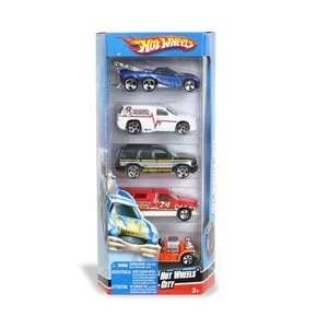 5 Car Gift PackMatchbox Hot Wheels City Toys & Games