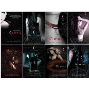 Night Series Collection Set (Marked, Betrayed, Chosen, Untamed, Hunted