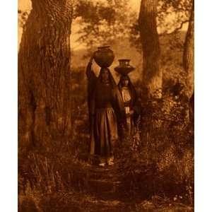 Taos Water Girls Edward S. Curtis American Indian Art
