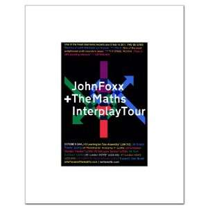 JOHN FOXX Maths Interplay Tour 10x8in Matted Music Print