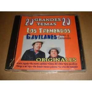 Los Tremendos Gavilanes Juan Y Salomon 20 Grandes Temas Cd LOS
