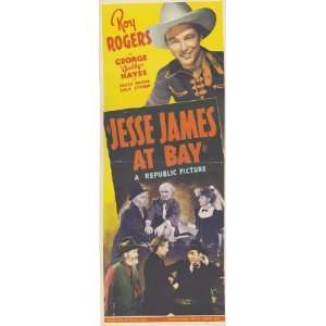 Jesse James at Bay Movie Poster (14 x 36 Inches   36cm x