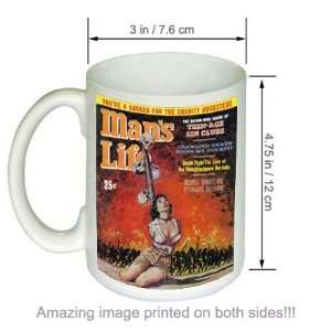 Youre a Sucker Retro Mans Life Vintage Pulp Art COFFEE MUG