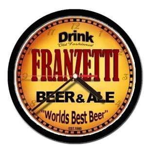 FRANZETTI beer and ale cerveza wall clock: Everything Else