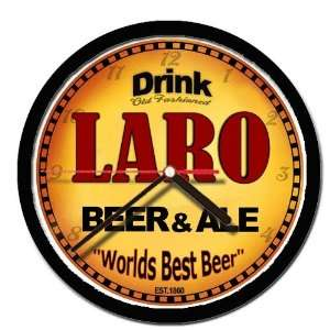 LARO beer and ale cerveza wall clock: Everything Else