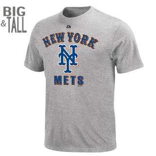 New York Mets BIG & TALL Performance Fan T Shirt   MLB Shop