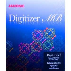 Janome Embroidery Machine Digitizer UPGRADE from Digitizer Pro