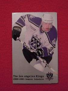2000 Los Angeles Kings Hockey Schedule Bud Light