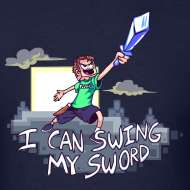 Design ~ I Can Swing My Sword (Minecraft Diamond Sword Song)
