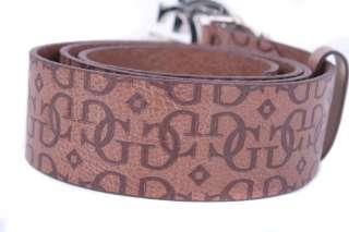 Guess Gürtel Leder Belt Ledergürtel Braun Gr. S; M (85 90 cm) #4