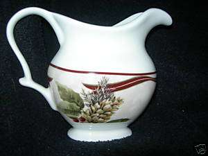 222 FIFTH~YULETIDE CELEBRATION~~CREAMER~~NEW~