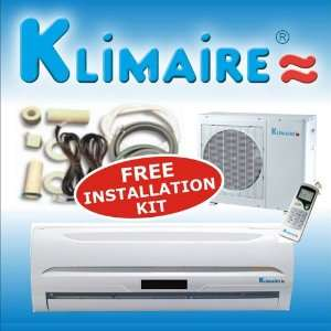 Klimaire 9000 Btu 13 SEER Mini Split Ductless a/c Air Conditioner
