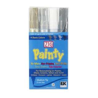 Zig Painty Medium Tip Paint Markers 4 pk..Opens in a new window