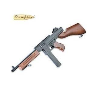 Thompson M1 Spring Airsoft Submachine Gun W/ Rail airsoft gun
