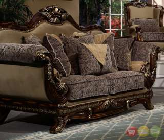 Luxury Sofa Love Seat Traditional Style Living Room Set Hd 94