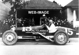 1930 INDY 500 AUTO RACING HOT ROD UNSER RACE CAR PHOTO