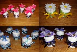 DIAPER CUPCAKES/BABY SHOWER GIFTS/FAVORS/DIAPER CAKES
