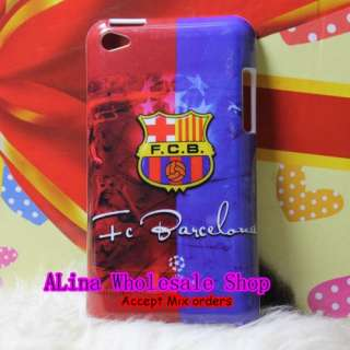 Fc Barcelona Football Club Team Hard Back Cover Shell Case For iPod