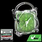 bedroom ornament cute crystal plastic desk bell alarm clock w