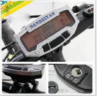 NEW LCD Bicycle Bike Computer Odometer Speedometer