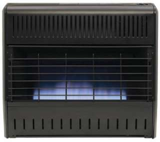 30,000 BTU Blue Flame Dual Fuel Gas Wall Heater Dual Fuel Permits