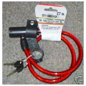 theft Security Bicycle/Bike/ATV/Scooter Cable Lock