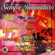 Siempre Romanticos 15 Exitos Coleccion 1 Siempre Romanticos 15