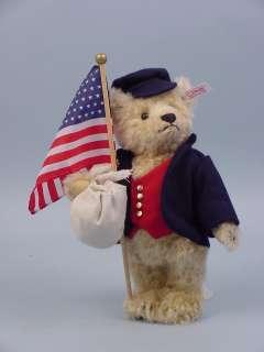 James, New American Teddy Bear MIB by Steiff