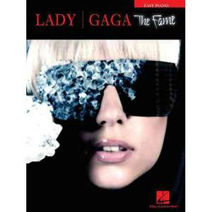 Lady Gaga The Fame Easy Piano, Lady Gaga Art, Music