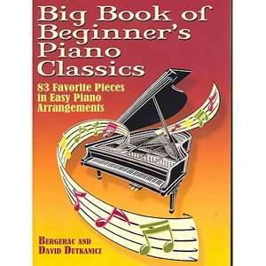 Book of Beginners Piano Classics 83 Favorite Pieces in Easy Piano
