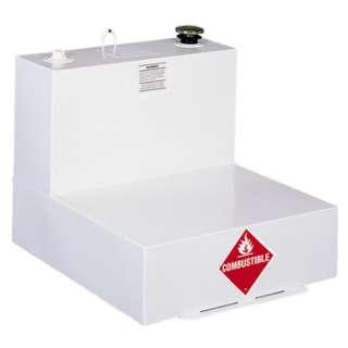 Delta 51 Gallon L Shaped Steel Liquid Transfer Tank   White 482000 NEW