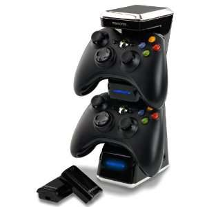 Memorex XBOX 360 Dual Controller Charging Kit Video Games