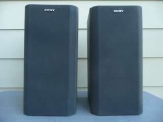 Pair Sony SS H2600 Bookshelf Speakers 6 ohm with Midrange Used