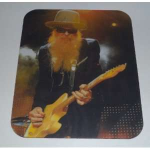 ZZ TOP Billy Gibbons COMPUTER MOUSE PAD Everything Else