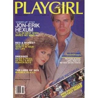 Playgirl Magazine, issue dated November 1984. Jon Erik Hexum cover