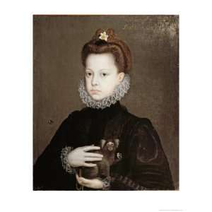 Infanta Isabella Clara Eugenia, Daughter of Philip II of