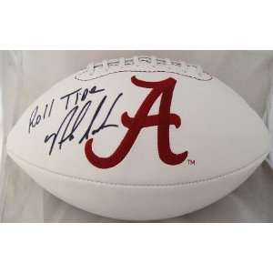 NICK SABAN SIGNED ALABAMA FOOTBALL
