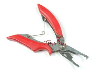 NEW Fishing Pliers Scissors Tackle Stainless Steel FPN01