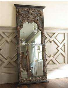 Vine XL Floor / Wall Mirror Luxury Leaner FULL LENGTH Horchow