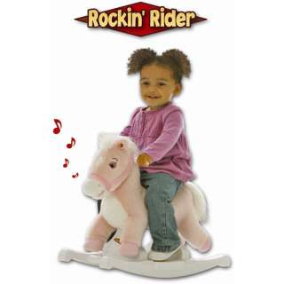 Horse, Pink Rocking Horse, Interactive Pony Toy, Child?s Rocking Horse